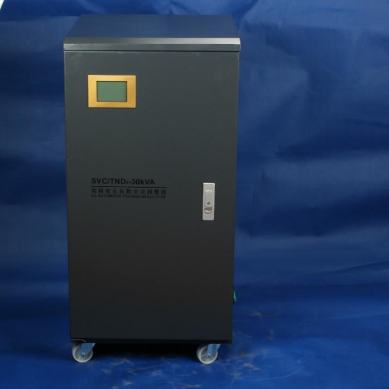 Thiết bị điện áp đặc biệt một pha điều chỉnh điện áp tự động TND-30KVA