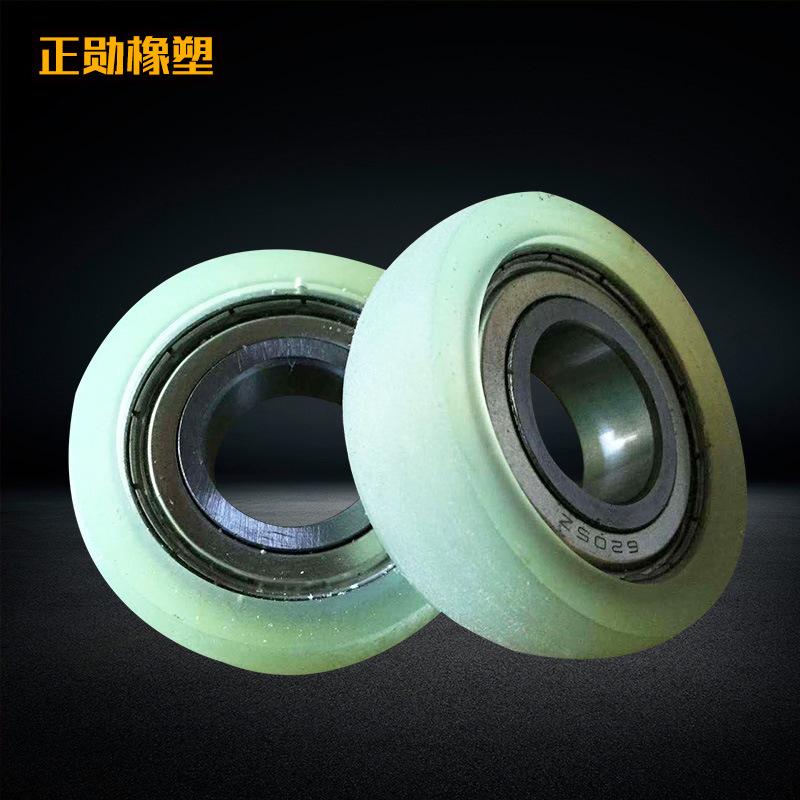 ZHENGXU Con lăn vận chuyển / Con lăn băng tải Con lăn cao su polyurethane chịu nhiệt độ cao Thiết bị