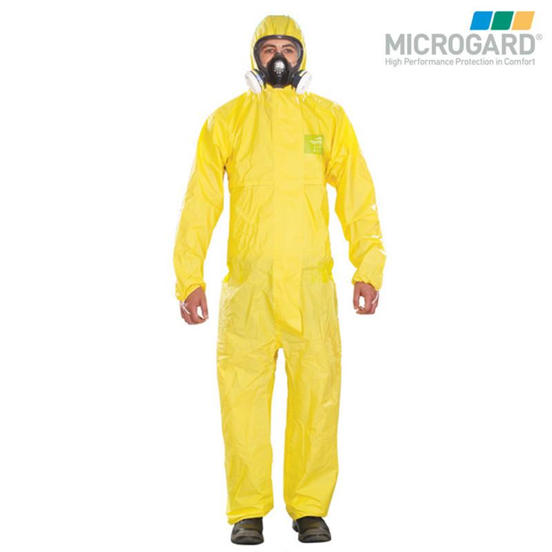 MICROGARD Trang phục bảo hộ Cung cấp vi bảo vệ tốt 2300 quần áo bảo vệ hóa học Xiêm trùm đầu chống t