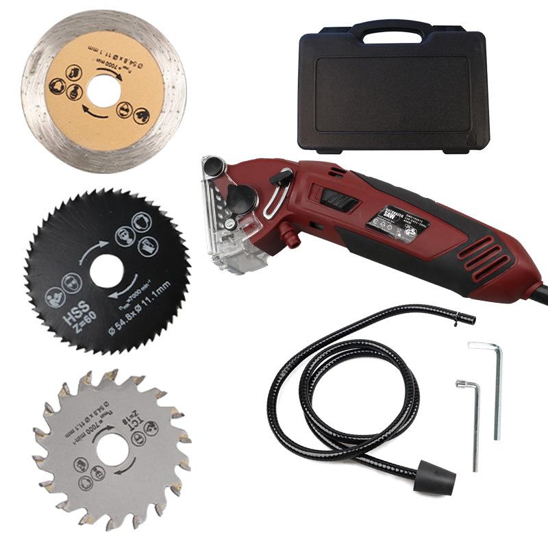 DZT Dụng cụ bằng điện Nhà máy trực tiếp đa chức năng cưa nhỏ kim loại cưa nhỏ cưa máy cắt mini máy c
