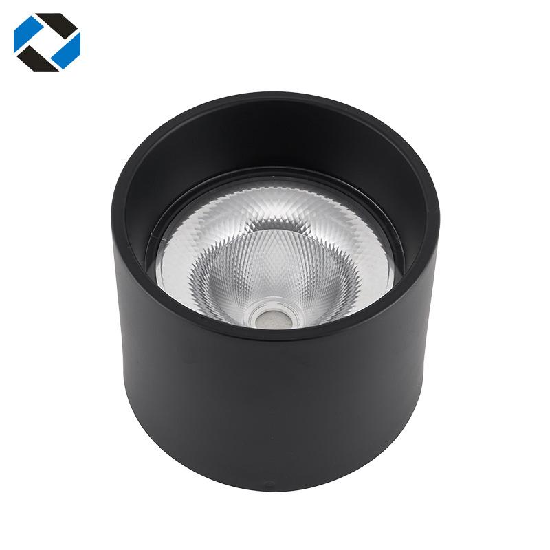 vỏ chụp đèn trần Hiện đại đơn giản bề mặt tròn gắn đèn downlight 8 inch Downlight Nhà ở LED Spotligh