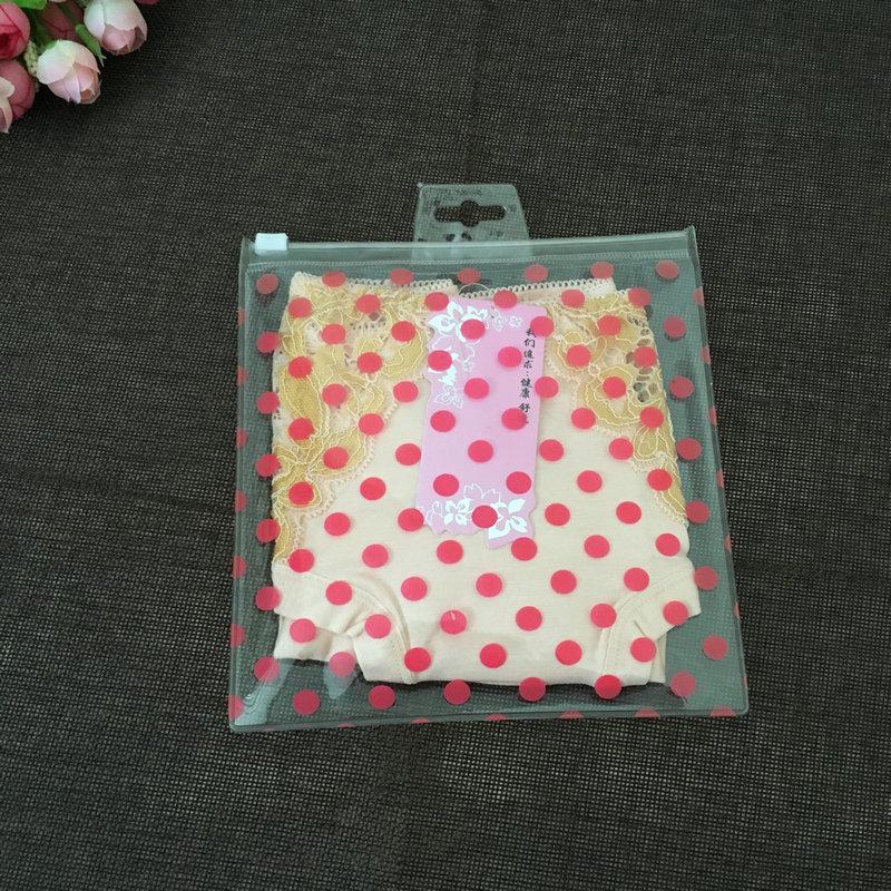 XINLI Túi đựng quần lót Nhà máy trực tiếp tùy chỉnh mới trong suốt bao bì quần áo túi PVC dây kéo tú