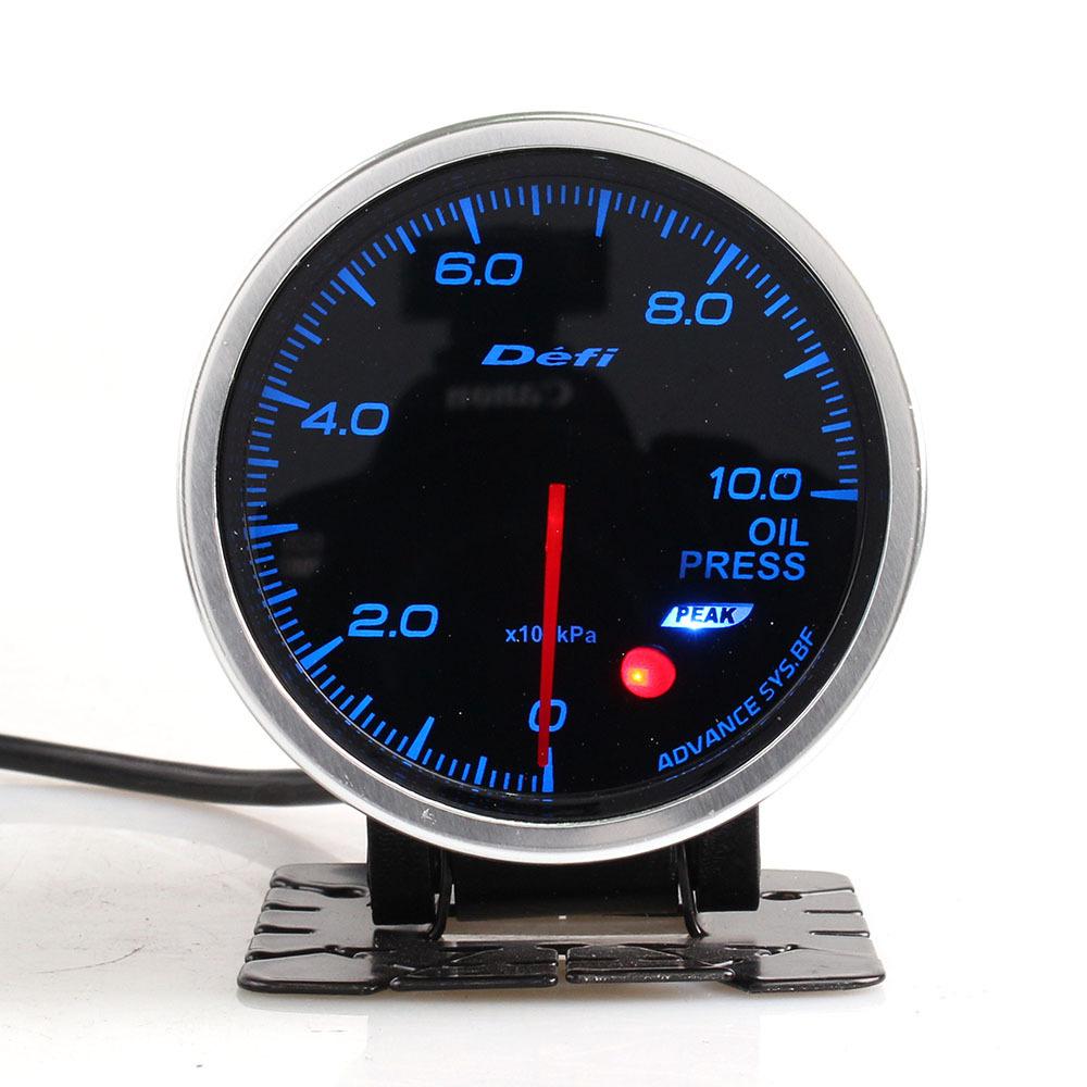 Đồng hồ đo áp suất Defi Advance BF 2.5 inch đầy màu sắc xe sửa đổi dụng cụ đo áp suất dầu