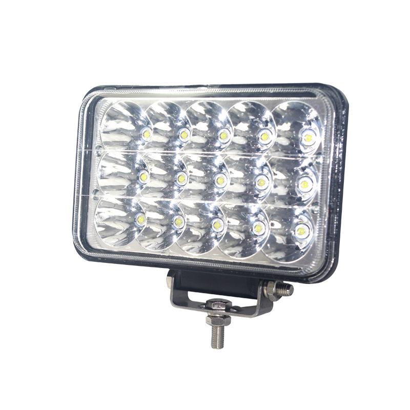 MANCHENG Cup phản quang led off-road work light 5 inch 45W spotlight 4 × 6 ba hàng phản chiếu cốc xe