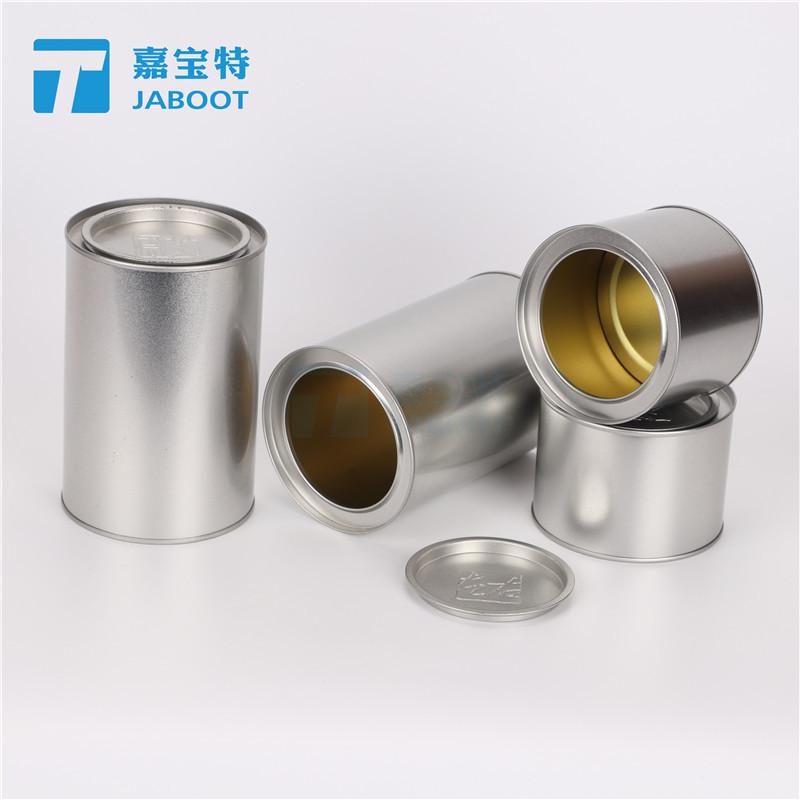 JIABAO Hũ kim loại Wuyi Rock Tea Bao bì kín Tin Can Ba Hai Black Tea Bao bì Kim loại Tin Can Tin tùy