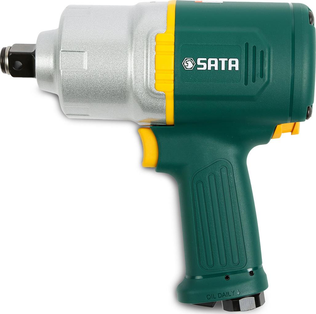 SATA Dụng cụ bằng hơi Shida Cannon Công cụ khí nén 3/4 inch công nghiệp mô-men xoắn lớn hỗn hợp khí