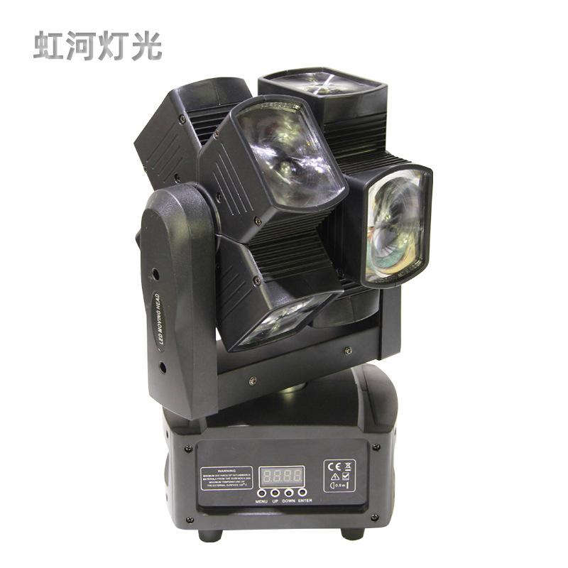 VANDEMY Đèn sân khấu Nhà máy trực tiếp LED Hot Wheel Di chuyển Head Light KTV Bar Light Ballroom Xoa