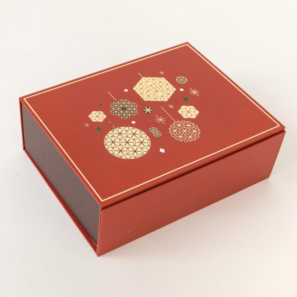 SHANGYU Hộp quà tặng Cung cấp hộp gấp mỹ phẩm sáng tạo, hộp quà Giáng sinh cao cấp, hộp quà tặng tùy