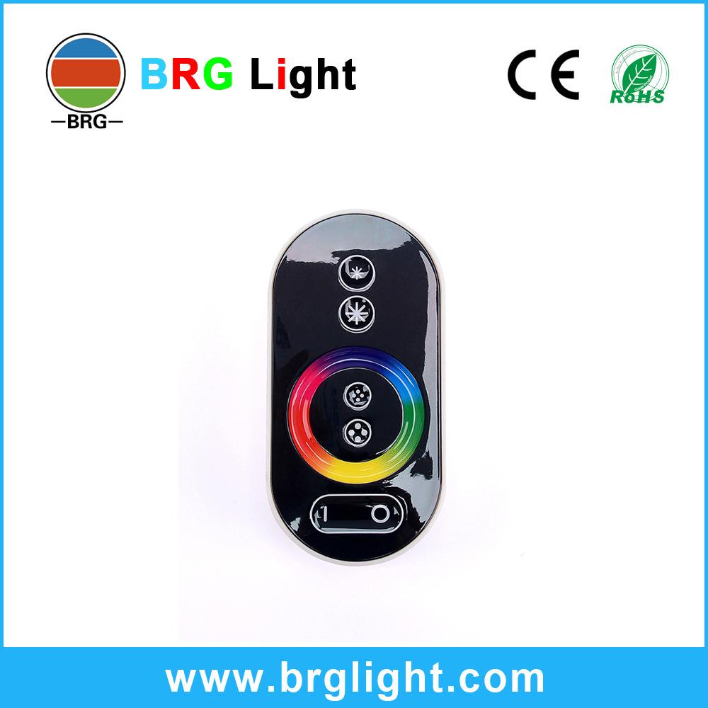LONGYING Thiết bị điều chỉnh màu Bộ điều khiển cảm ứng LED Ánh sáng RGB với tần số vô tuyến RF không