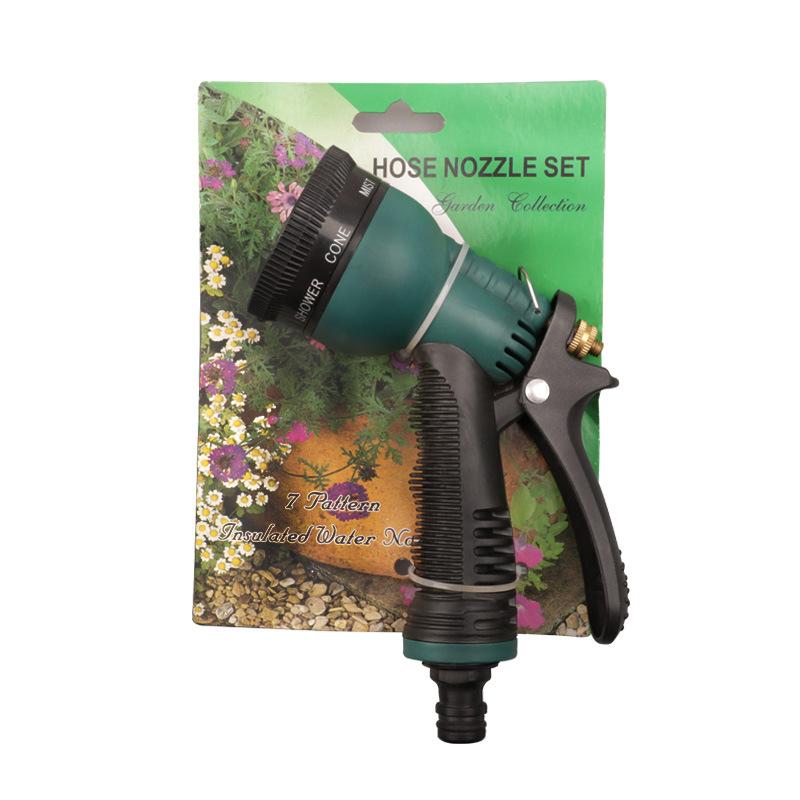 DZT Dụng cụ rửa xe Tám chức năng rửa xe súng nước hộ gia đình rửa nước súng công cụ rửa xe súng phun