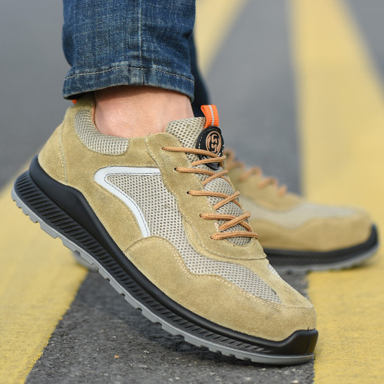 Giày bảo hộ lao động thoáng khí khử mùi an toàn chống mài mòn