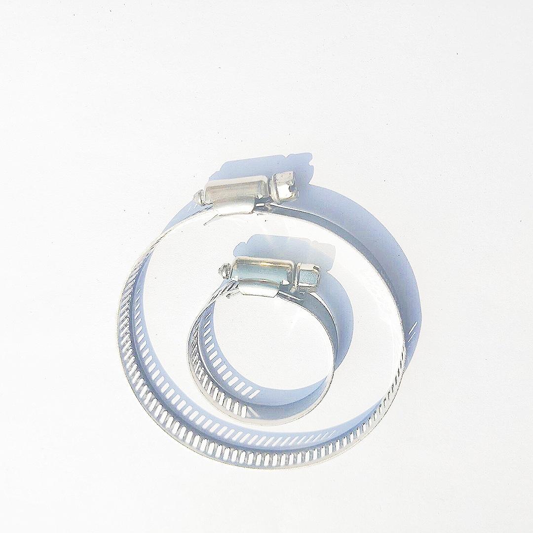 Đai kẹp(đai ôm) Nhà máy trực tiếp kẹp ống thép không gỉ 201304 ống kẹp ống gió ống thép không gỉ kẹp