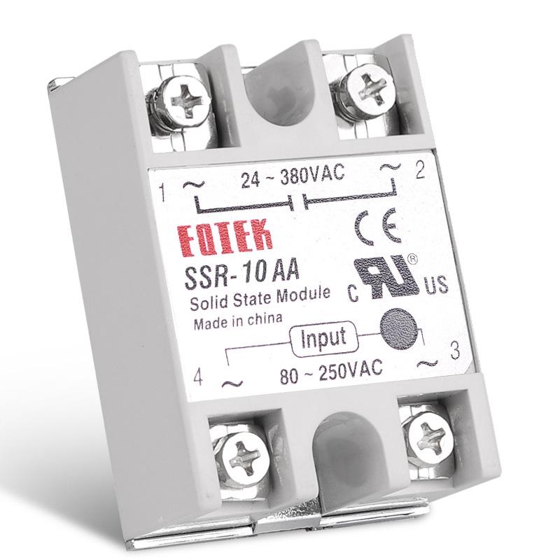Rờ-lê Rơle trạng thái rắn một pha nhỏ SSR-40AA Điều khiển AC AC AC-AC nhà máy bán hàng trực tiếp 10-