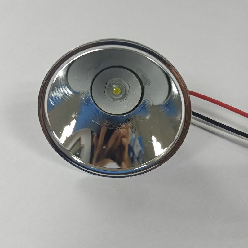 XINFEIHAO Cup phản quang Nhà sản xuất trực tiếp cung cấp đèn pha câu cá 40mm, đèn pin, cốc nhôm, gươ