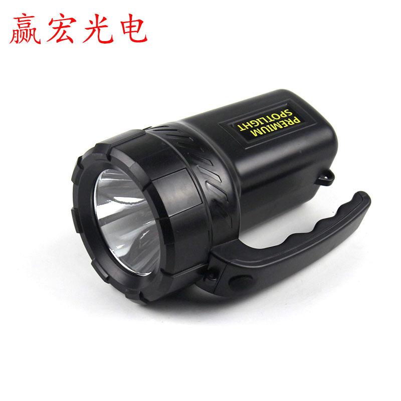 Đèn LED khẩn cấp Sửa lỗi tập trung đèn xách tay LED ngoài trời ánh sáng mạnh khai thác đèn sạc khẩn
