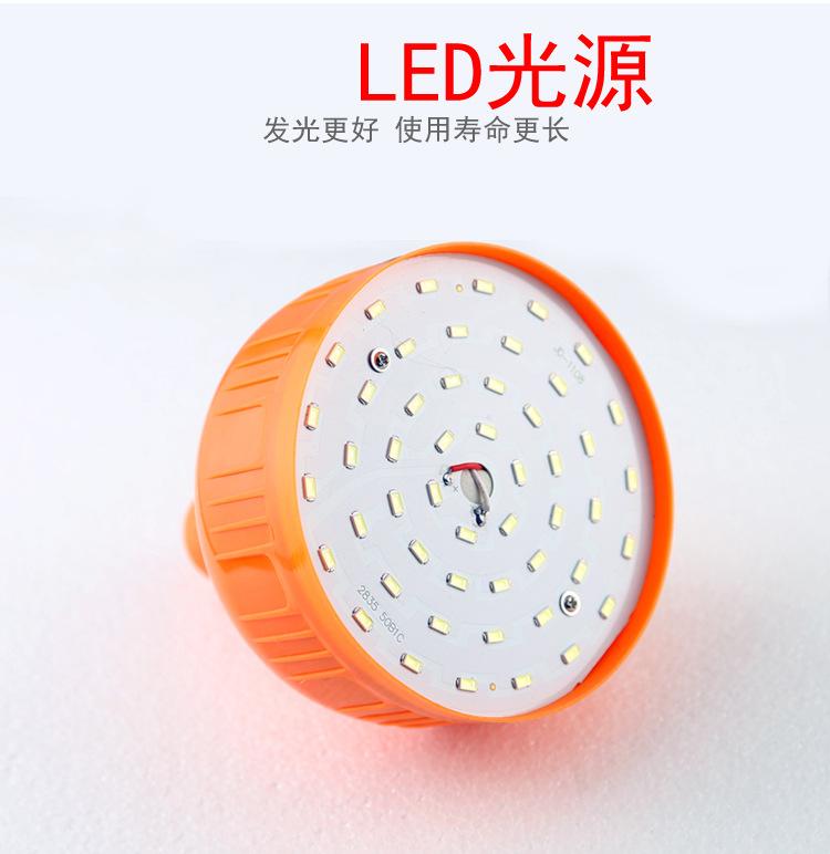 JINLAIZHUO Đèn LED khẩn cấp led nhà sạc bóng đèn 60W điện áp thấp bóng đèn khẩn cấp USB5 tập tin 3 t
