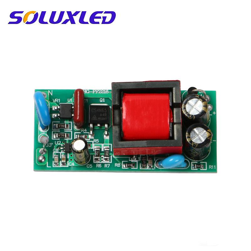 SOLUXLED Bộ nguồn cho đèn LED Công suất ổ đĩa LED 12-18W với nguồn điện xoay chiều MOV cung cấp năng