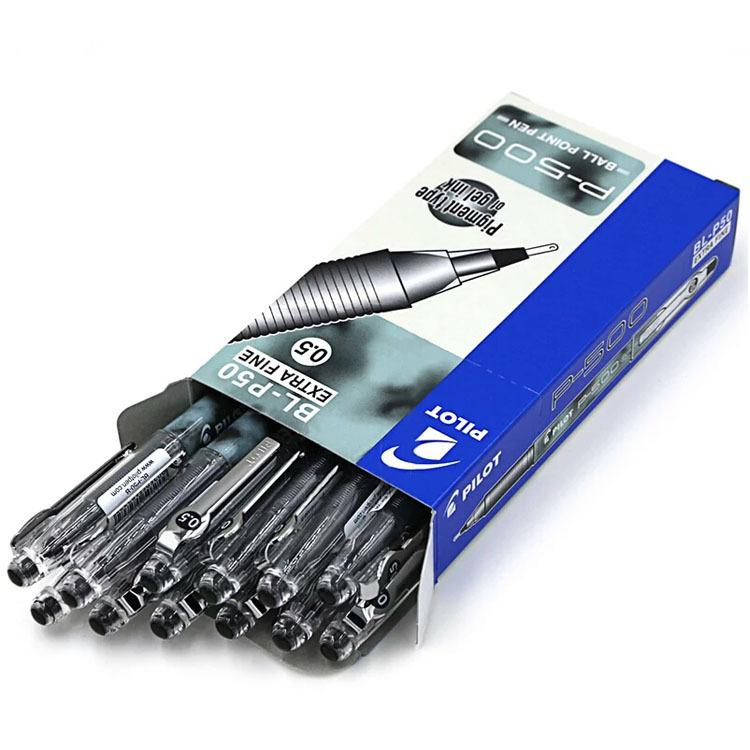 PILOT Bút nước Bella p500 gel bút 0,5pilot đen văn phòng thi bút cao cấp quảng cáo quà tặng vào