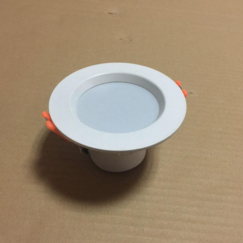 JIEHEXIN vỏ chụp đèn trần Bộ đèn downlight mũ rơm mới tích hợp bộ vỏ đèn downlight chống chói toàn b