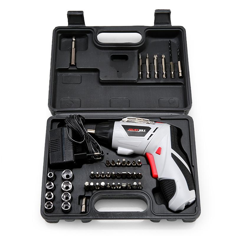 AOTUO Thị trường công cụ Máy vặn vít điện 4.8V Hộ gia đình không dây Máy khoan điện Bộ tua vít điện