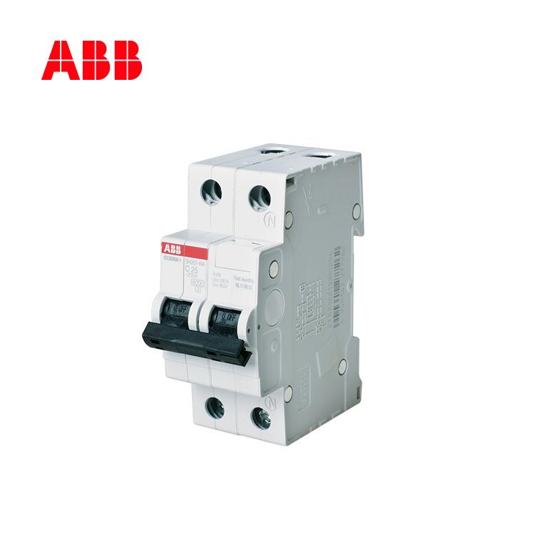 Bộ ngắt mạch ABB thu nhỏ 63A Công tắc không khí 1P + N6KA