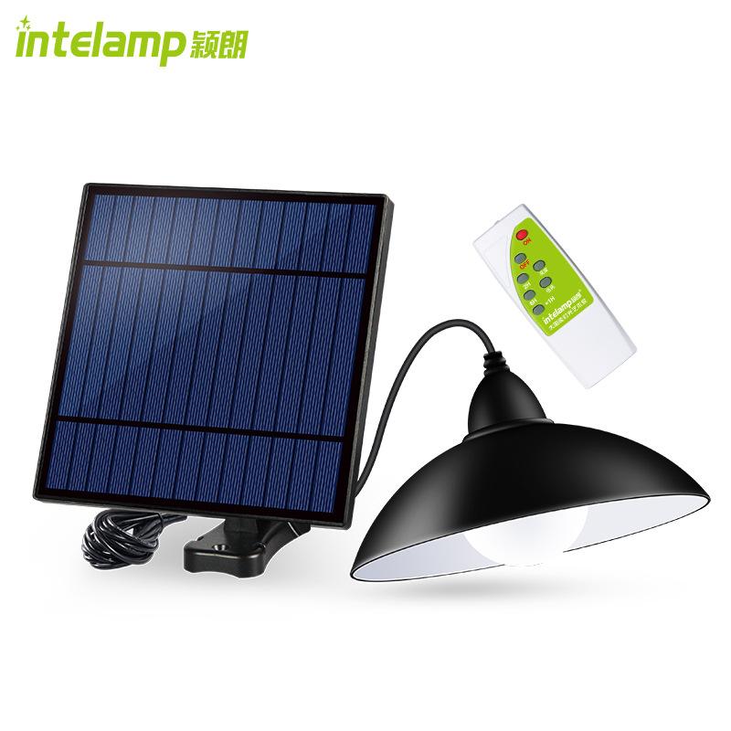 Đèn chùm chiếu sáng tích hợp năng lượng mặt trời - Intelamp