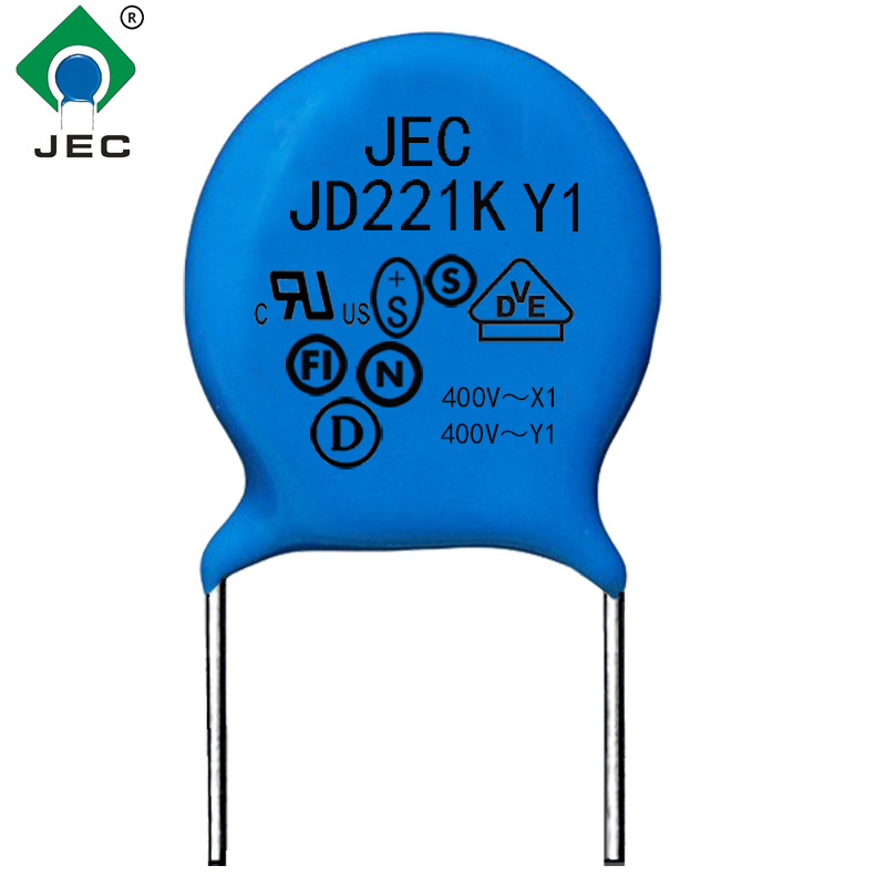 JEC Tụ điện ban đầu cung cấp tụ điện an toàn Y1 tụ điện gốm sứ JD21K400VAC