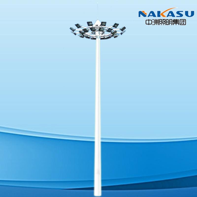 ZHONGZHOU Đèn LED chiếu sáng công cộng Đèn cực cao Sân vận động chuyên dụng đèn cực cao 30 mét nâng
