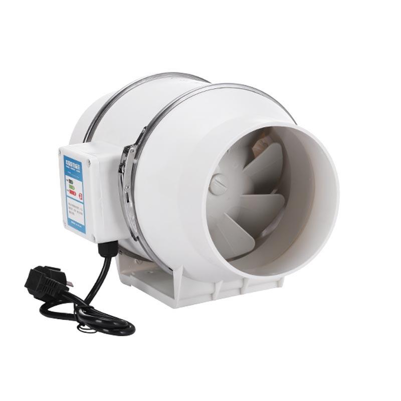 NIUAI Quạt thông gió Matsuda tròn xiên ống thông gió quạt thông gió nhà bếp hút khói quạt không khí