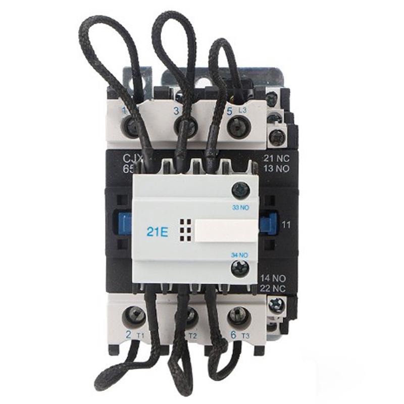 Công tắc tơ AC CJ19-63A dành riêng cho chuyển mạch bù phản ứng RMSCSH CJ19-63 / 21