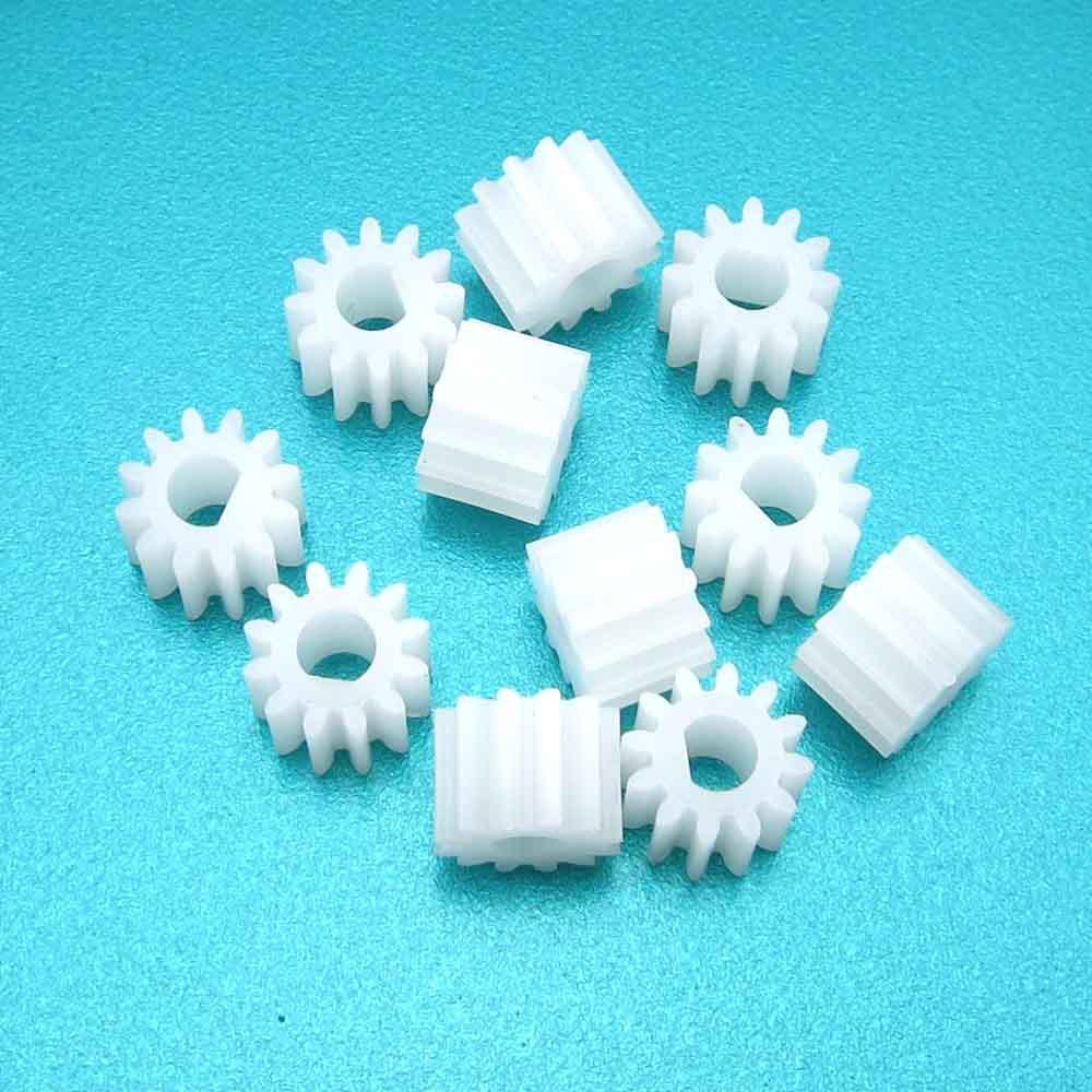 JSCS Bánh răng 1012DF bánh răng 3 mm D lỗ 12 răng bánh răng nhựa ngoài bánh răng cứng bề mặt bánh ră