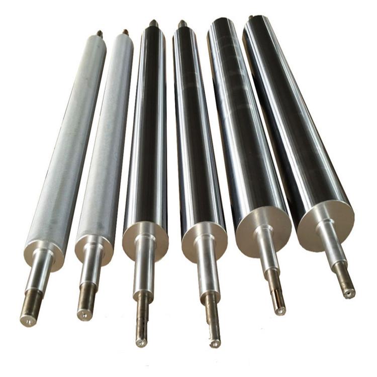 Con lăn Nhà sản xuất sản xuất thép không gỉ con lăn gương bề mặt con lăn chrome mạ lithium pin màng