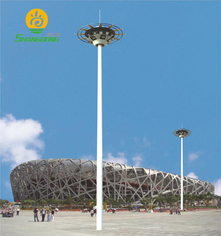 SHANGDONGXIN Đèn LED chiếu sáng công cộng 8 mét vuông 15 mét dẫn cực cao ánh sáng cực ngoài trời sân