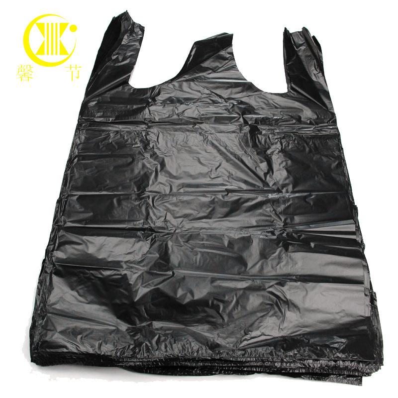 Túi xốp 2 quai Lớn vest đen loại túi nhựa tiện lợi túi rác túi mua sắm túi tote 60 * 94cm * 50 chỉ
