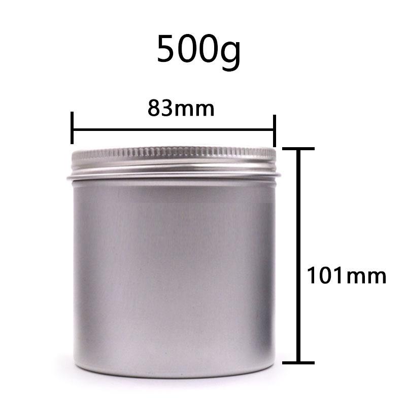 RN Hũ kim loại 500ml 83mm * 101mm bao bì kim loại tròn có thể bánh trung thu hộp quà tặng trang sức