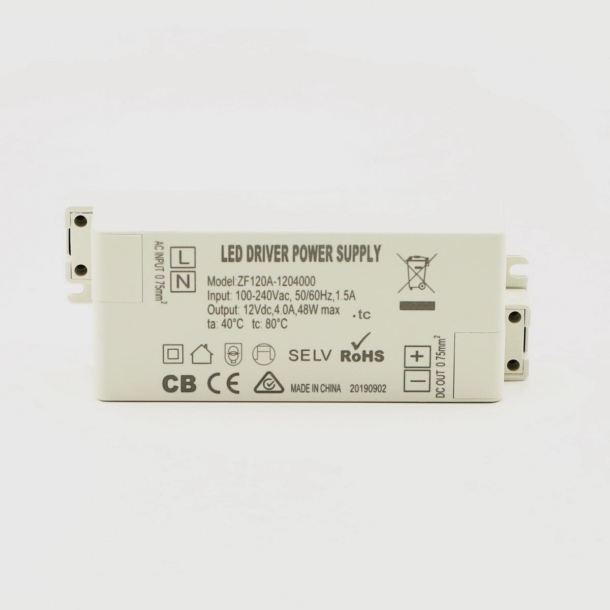 TLD Bộ nguồn không đổi Bên ngoài UL12V50W dòng điện liên tục và điện áp LED điều khiển không đổi, hệ