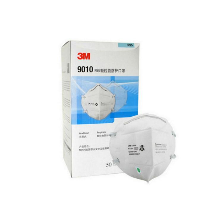 3M Khẩu trang bảo hộ Mặt nạ bảo vệ 3M 9010 N95 headband 50 cái / hộp 10 hộp / thùng