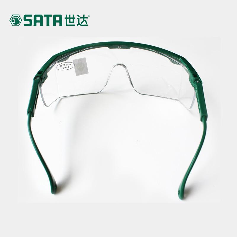 SATA Thị trường bảo hộ lao động Kính chống va đập Shida YF0101 kính trong suốt chống gió cát chống b