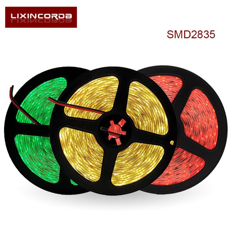 LIXINCORDA Đèn LED dây Impulse 3528 ánh sáng mềm mại với 12 giọt chống thấm nước 300 đèn RGB đua ngự