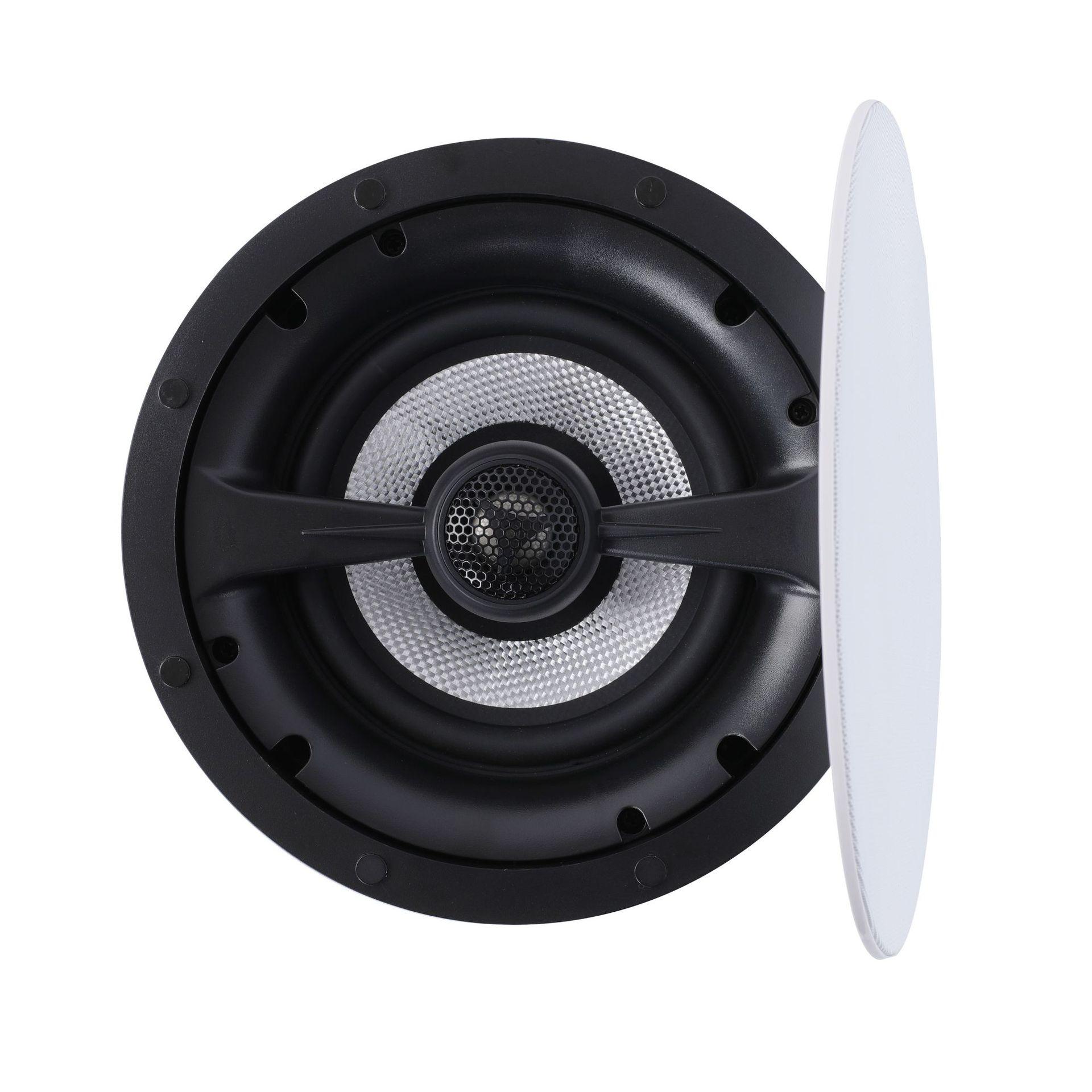 CHANGYUN Loa Nhạc nền Trần âm thanh nổi Loa 6.5 inch với Crossover