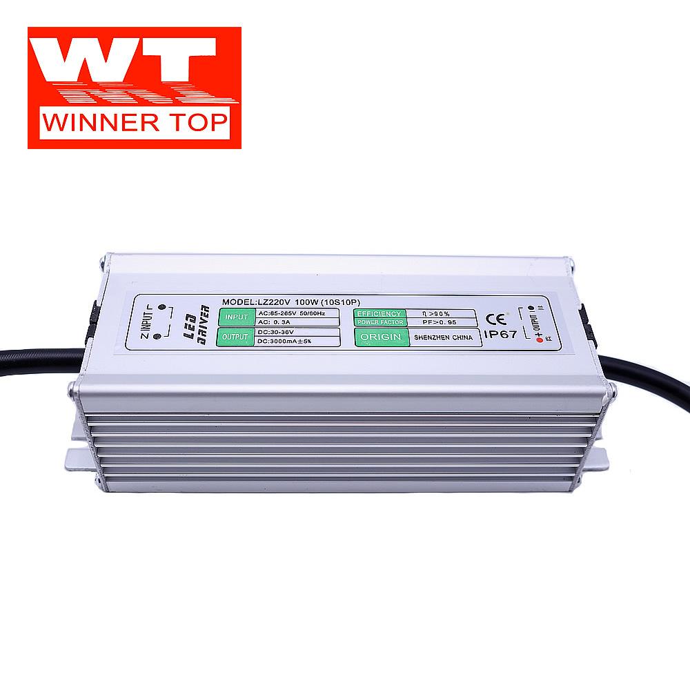Winnertop Bộ nguồn không đổi LED liên tục cung cấp năng lượng hiện tại chống tăng 6000V 100w10 chuỗi