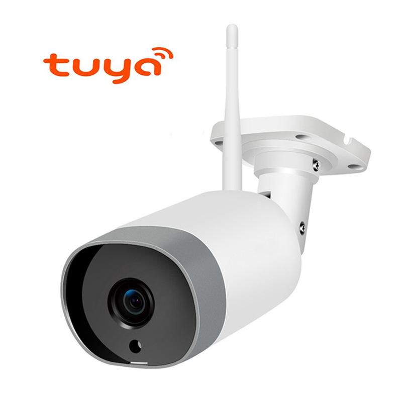 ANDINGDING Camera giám sát Tuya Smart Wireless Camera chống nước ngoài trời không dây WIFI Tuya WIFI
