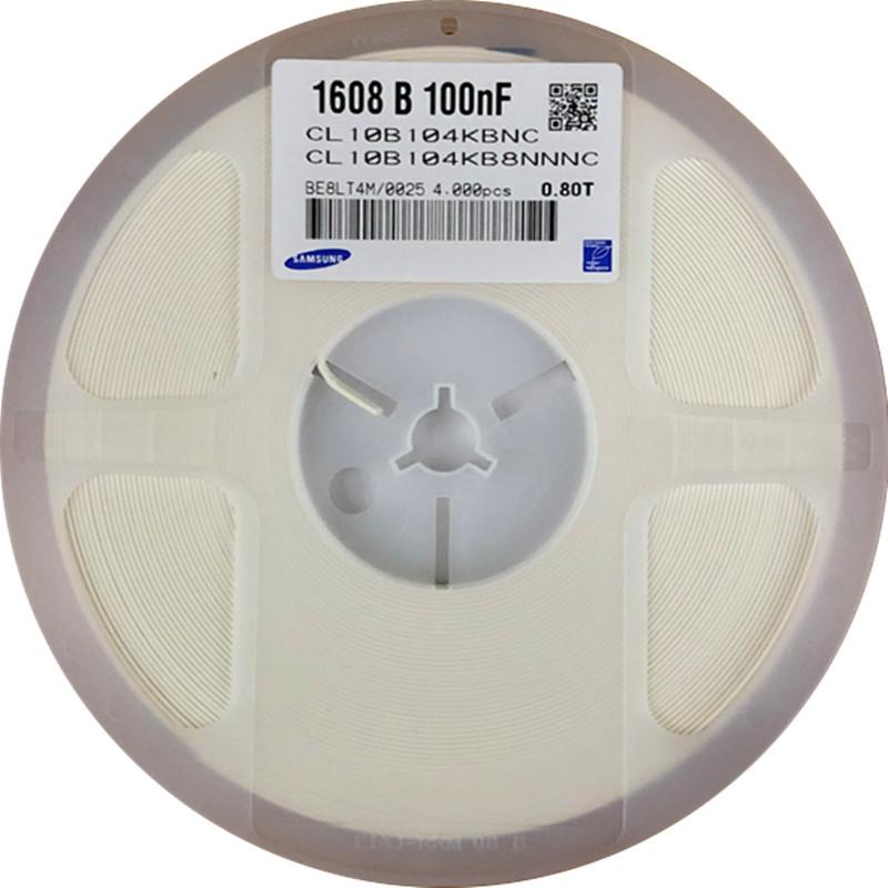 Samsung Tụ điện CL10B104KB8NNNC Tụ chip Samsung 0603 104K 100nF 50V X7R 10%