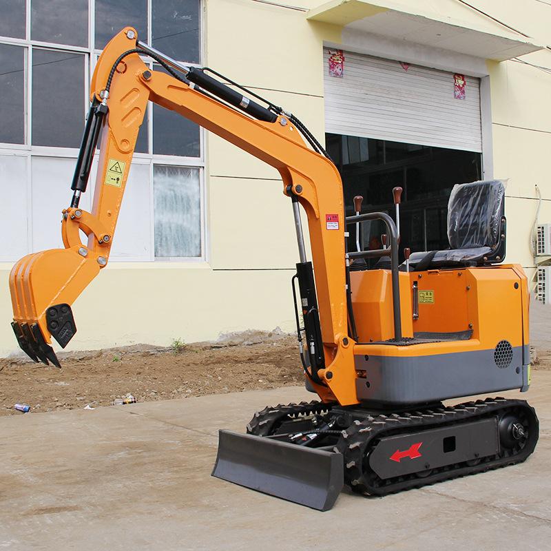 HONGZHUO Máy đào đất Nhà máy trực tiếp bán 1 tấn máy xúc đa chức năng nhỏ Bán buôn máy thu hoạch vườ