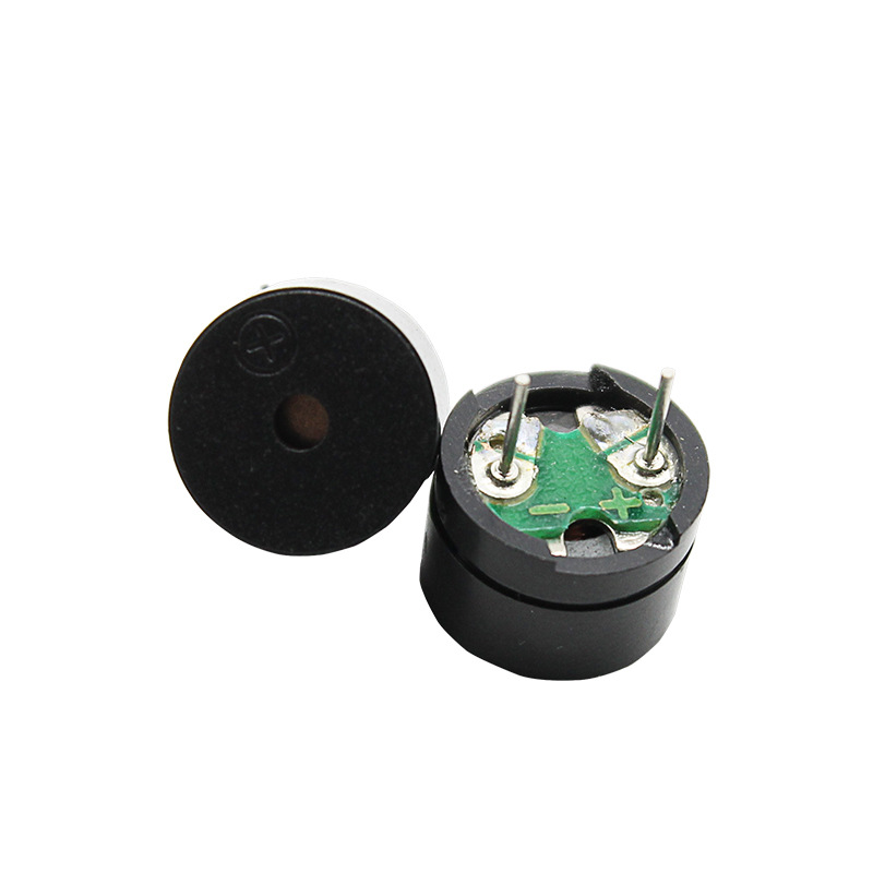 Eiechip Thiết bị điện âm Bộ rung điện tử thụ động mới 5v âm lượng 12 * 8,5mm Thiết bị điện âm bảo vệ
