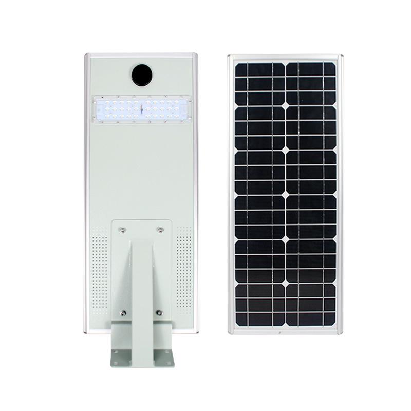 Đèn đường chiếu sáng Tích hợp năng lượng mặt trời thông minh