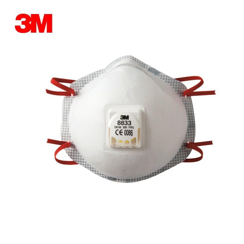 3M Khẩu trang bảo hộ 8833 Vật liệu tự chống lọc được lọc