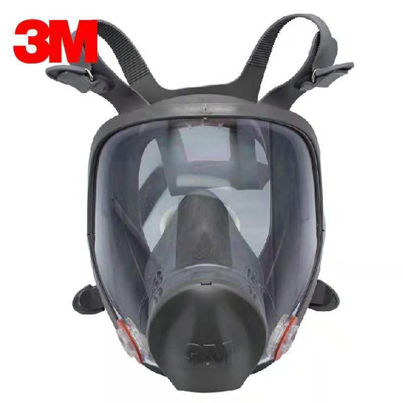 3M Mặt nạ phòng chống khí độc 3M6800 Mặt nạ phòng độc phun sơn Bảo vệ hóa học Chất độc khí Thiệt hại