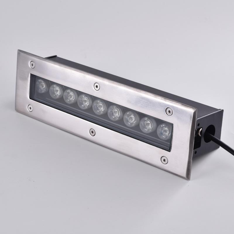 YUANJING Đèn LED Wall Washer Dải đèn LED chôn lấp 18W24W