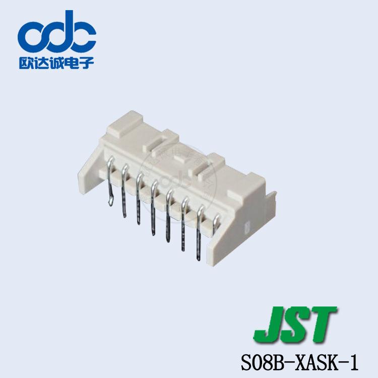 JST Giắc nối Cung cấp S08B-XASK-1 Đầu nối JST đầy đủ sê-ri XA sê-ri khoảng cách 2,5mm